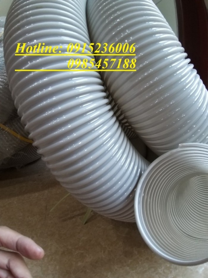 Ống hút bụi gỗ gân nhựa phi D34, D40, D50, D60, D80, D90, D100, D120, D200..1