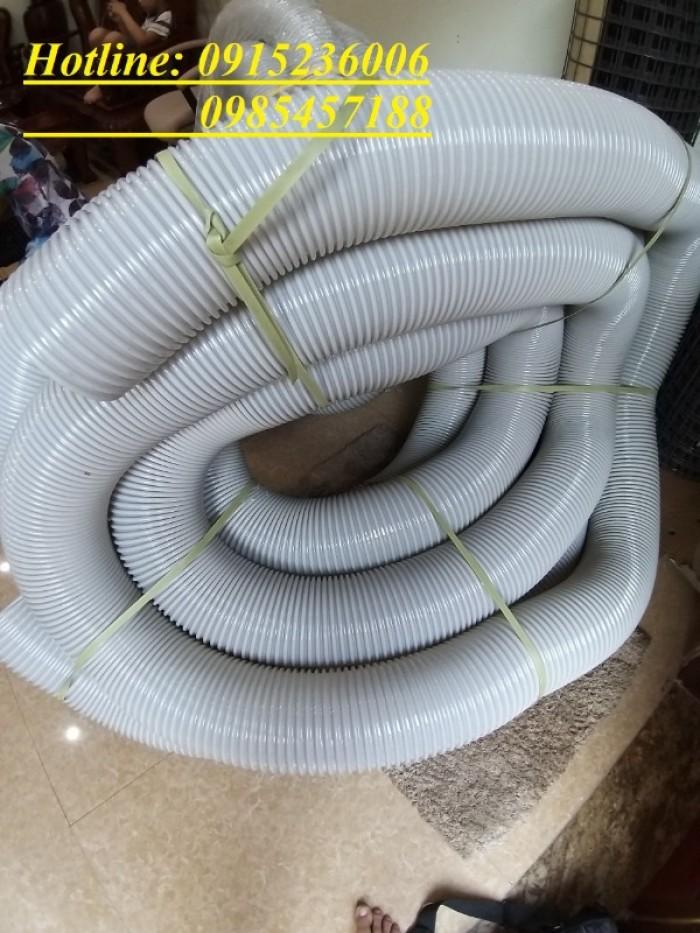Ống hút bụi gỗ gân nhựa phi D34, D40, D50, D60, D80, D90, D100, D120, D200..2