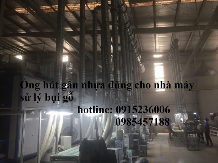 Ống hút bụi gỗ gân nhựa phi D34, D40, D50, D60, D80, D90, D100, D120, D200..3