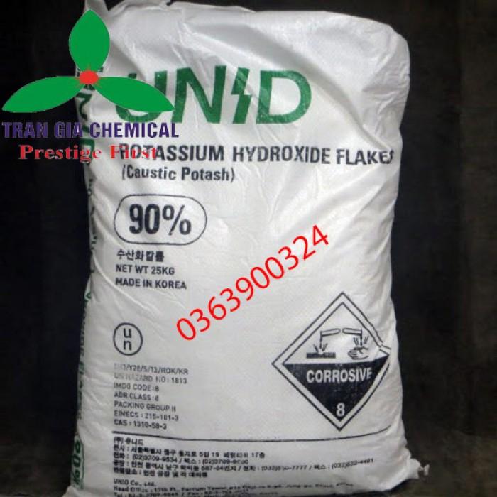 Kali Hydroxide   Potassium Hydroxide   KOH Gía Tốt0