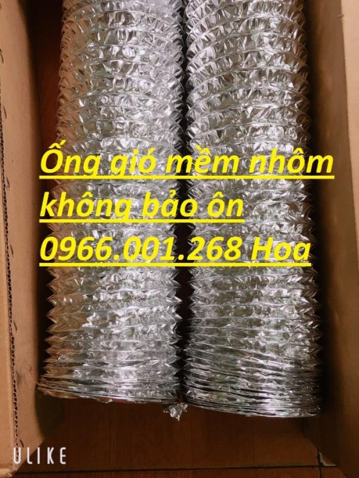 Giá ống gió mềm nhôm Hàn Quốc phi 75,phi 100,phi 125,phi 150,phi 200,phi 250,4