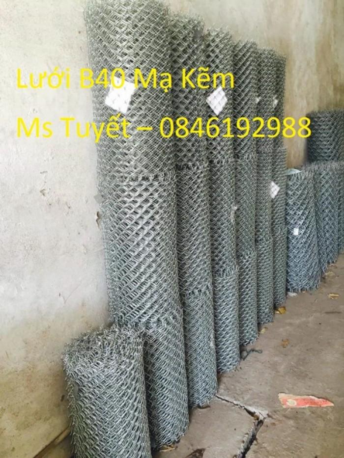 Giá lưới B40 Mạ Kẽm giá rẻ làm hàng rào2