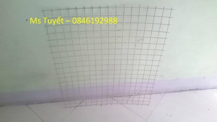 Lưới thép hàn mạ kẽm D1, D1.5, D2  mắt 25x25, 50x50 hàng có sẵn0