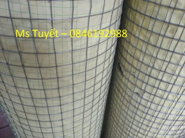 Lưới thép hàn mạ kẽm D1, D1.5, D2  mắt 25x25, 50x50 hàng có sẵn2