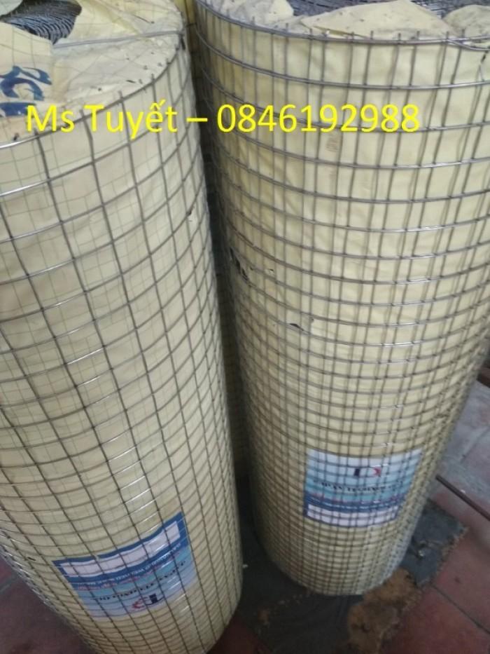 Lưới thép hàn mạ kẽm D1, D1.5, D2  mắt 25x25, 50x50 hàng có sẵn1