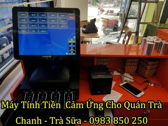 Bộ Máy Pos Tính Tiền Cảm Ứng Cho Quán Trà Chanh tại Hà Nội,Hà Tĩnh, Hà Nam
