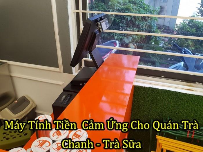 Bộ Máy Pos Tính Tiền Cảm Ứng Cho Quán Trà Chanh tại Hà Nội,Hà Tĩnh, Hà Nam2
