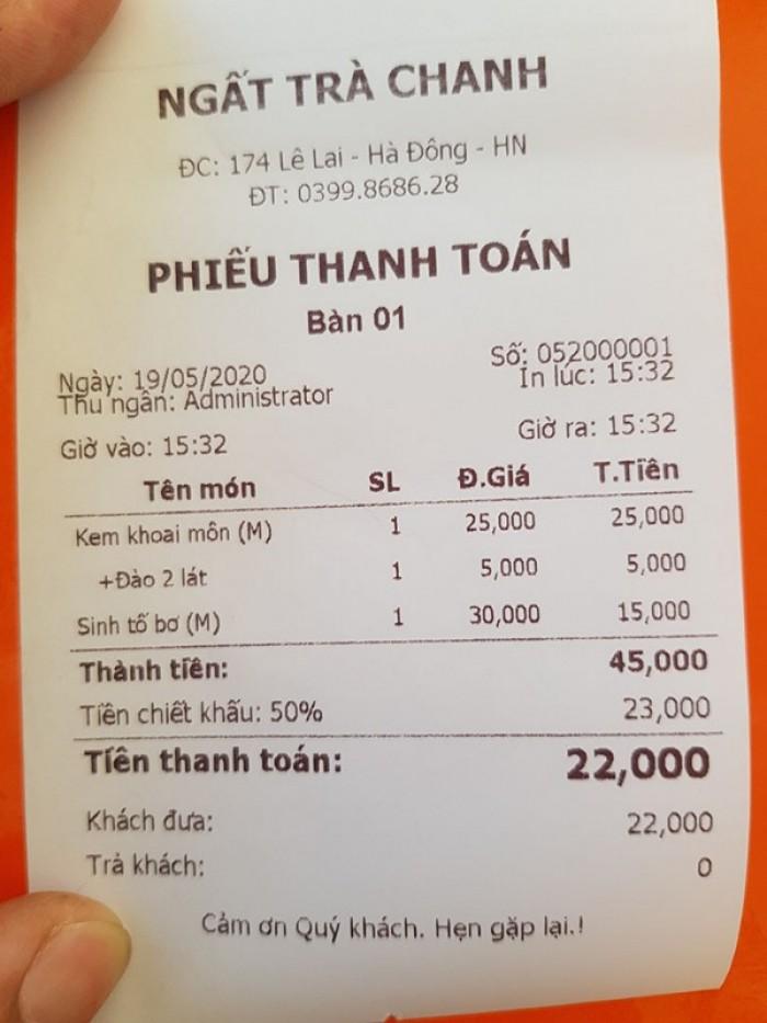 Bộ Máy Pos Tính Tiền Cảm Ứng Cho Quán Trà Chanh tại Hà Nội,Hà Tĩnh, Hà Nam3