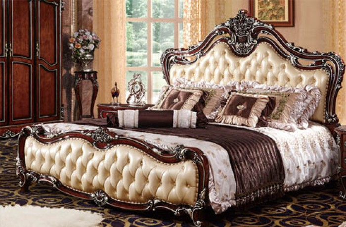 giường ngủ cổ điển giá rẻ hcm13