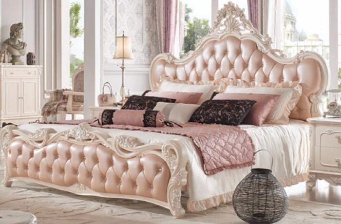 giường ngủ cổ điển pn11517