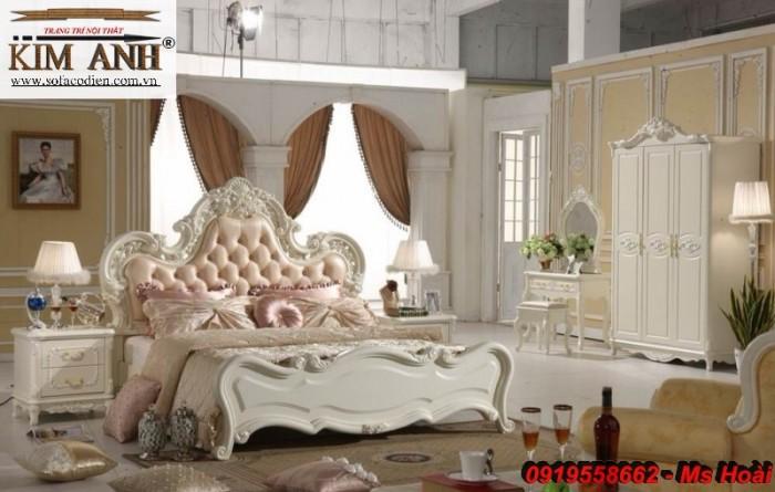 giường ngủ cổ điển giá rẻ14