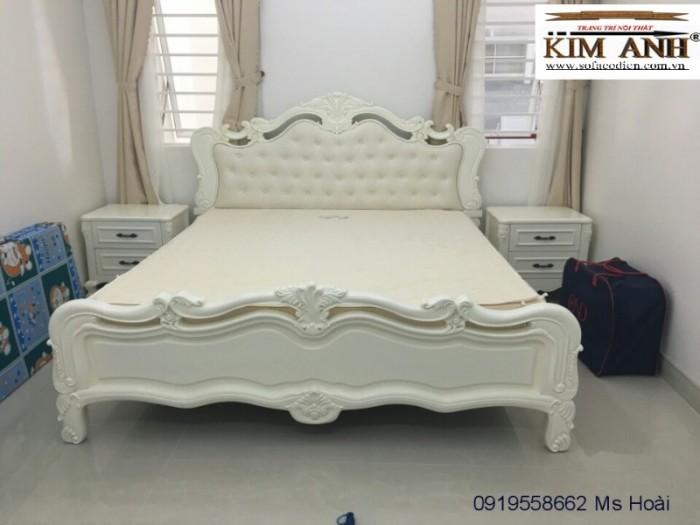 Nội thất cổ điển giá rẻ TPHCM, giường ngủ tân cổ điển Bình Dương, Cần Thơ20