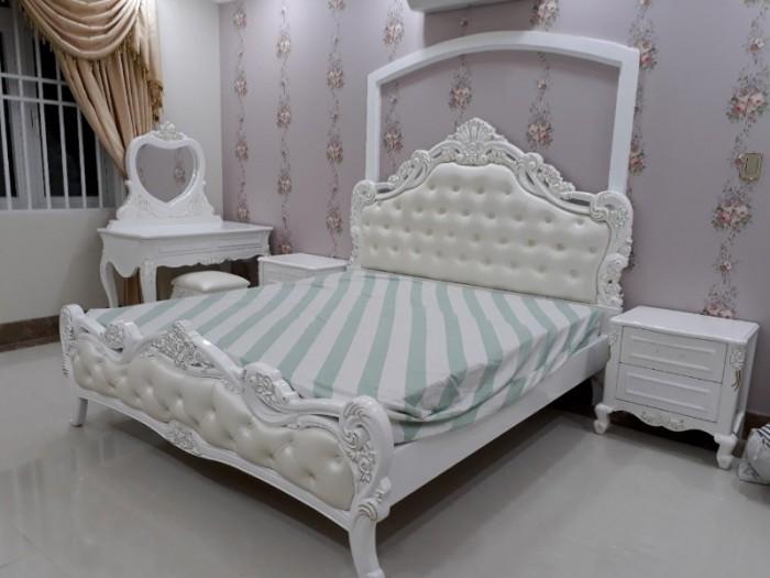 Nội thất cổ điển giá rẻ TPHCM, giường ngủ tân cổ điển Bình Dương, Cần Thơ24
