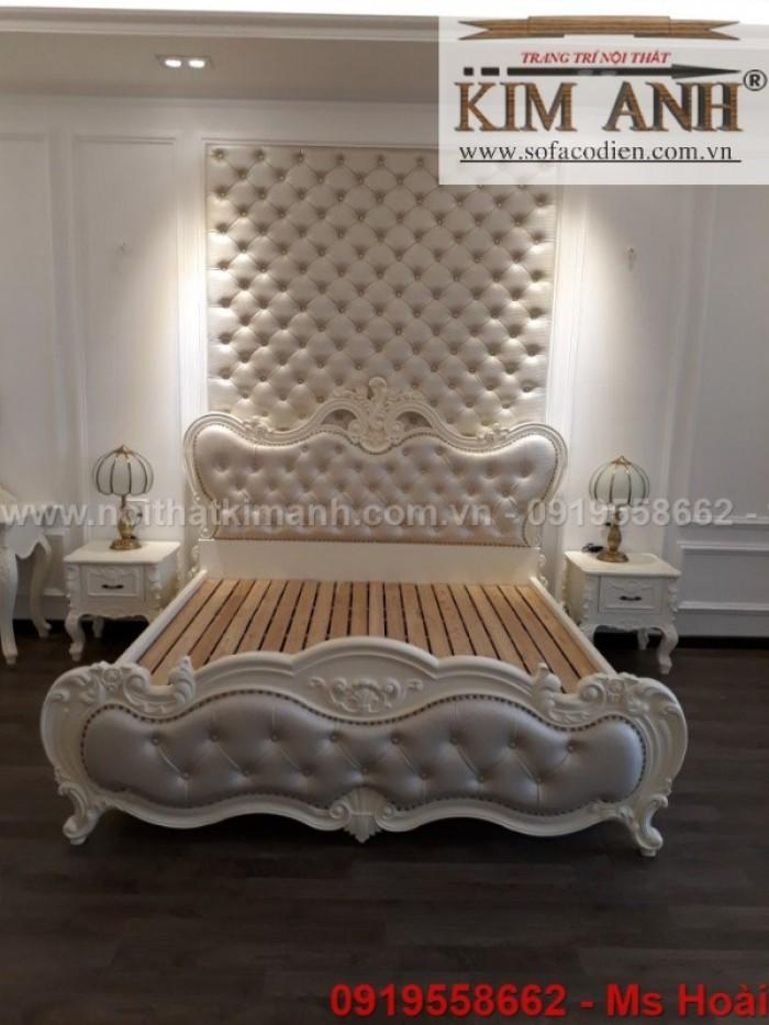 Nội thất cổ điển giá rẻ TPHCM, giường ngủ tân cổ điển Bình Dương, Cần Thơ30