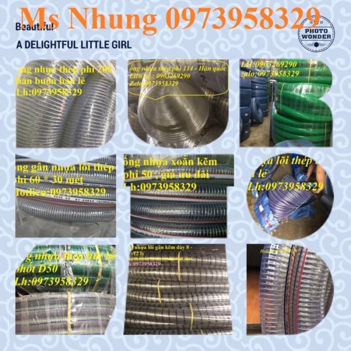 Báo giá ống nhựa lõi thép dẫn hóa chất , xăng dầu , nước , thực phẩm D200,1