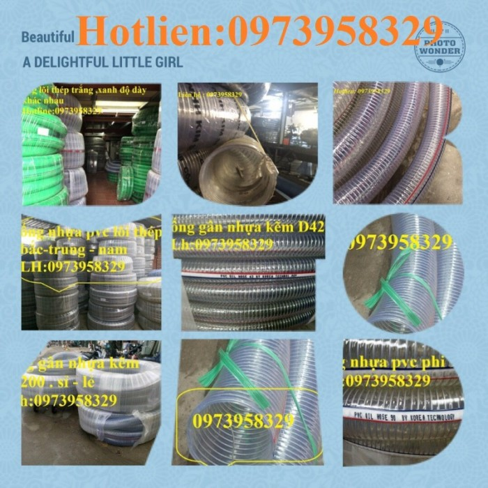 Báo giá ống nhựa lõi thép dẫn hóa chất , xăng dầu , nước , thực phẩm D200,2