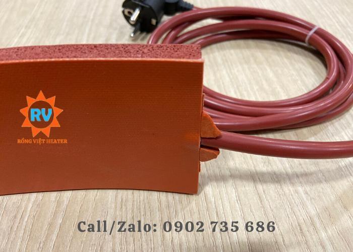 Điện trở silicon L 2500 x 80 /230V-650W0