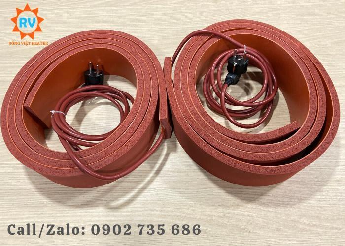 Điện trở silicon L 2500 x 80 /230V-650W1