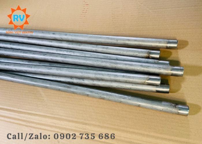 Điện trở đun nước kèm hoá chất  L phi 25-900-200-380V-3KW2