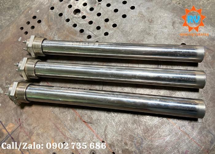 Điện trở đun nước,đun dầu 1 đầu M45, phi 38*430PB/220v-2KW1