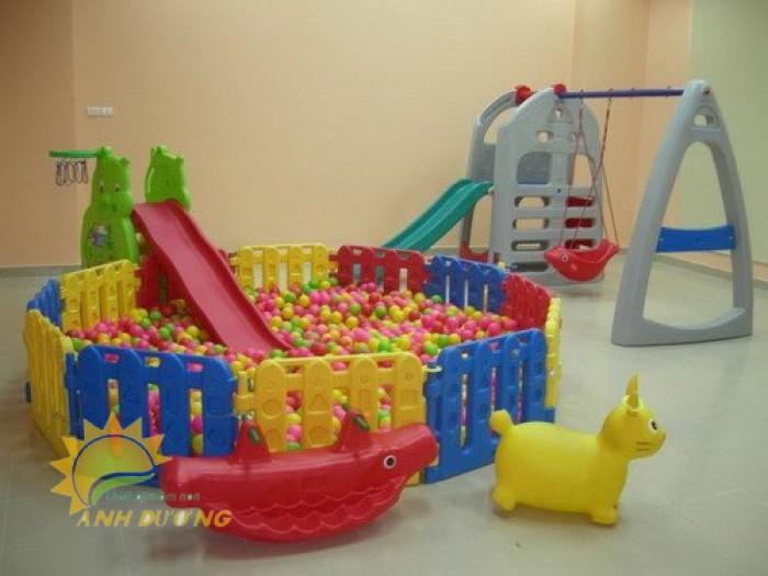 Cung cấp nhà banh trong nhà cho trẻ nhỏ mầm non vui chơi, vận động