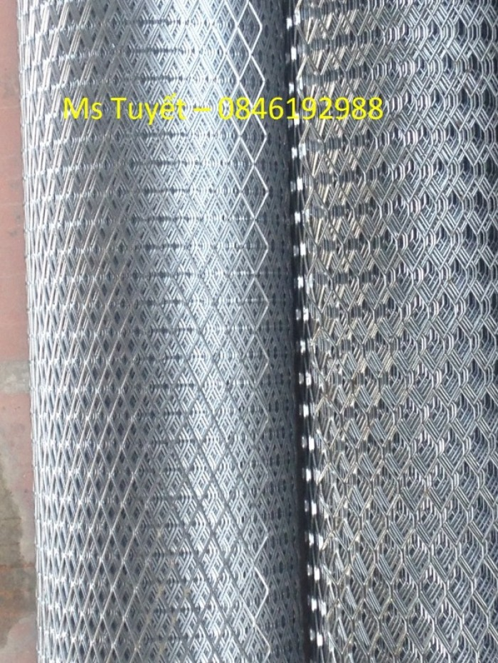 Lưới thép tô tường chống nứt dây 0.4li, mắt 6x12mm, mắt 10x20mm6