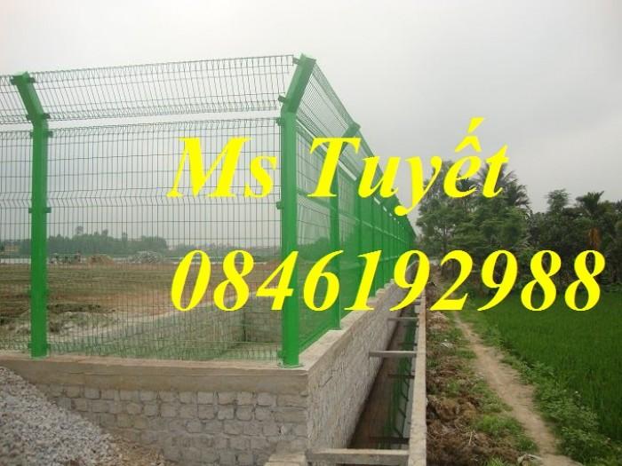 Hàng rào lưới thép mạ kẽm, lưới thép điện phân, sản xuất và lắp đặt1