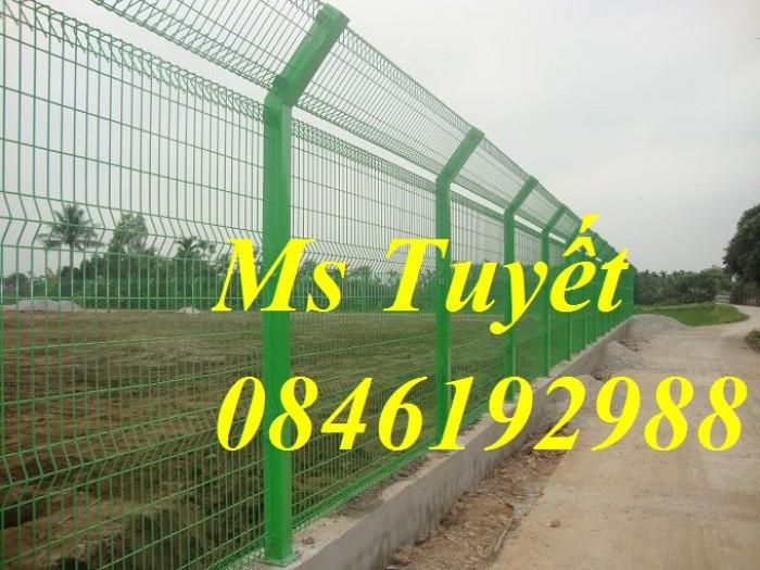 Hàng rào lưới thép mạ kẽm, lưới thép điện phân, sản xuất và lắp đặt2