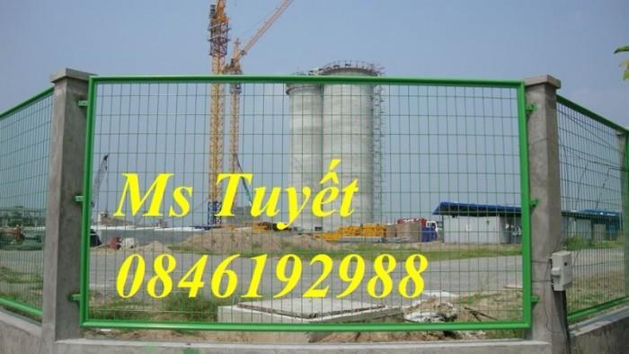 Hàng rào lưới thép mạ kẽm, lưới thép điện phân, sản xuất và lắp đặt5