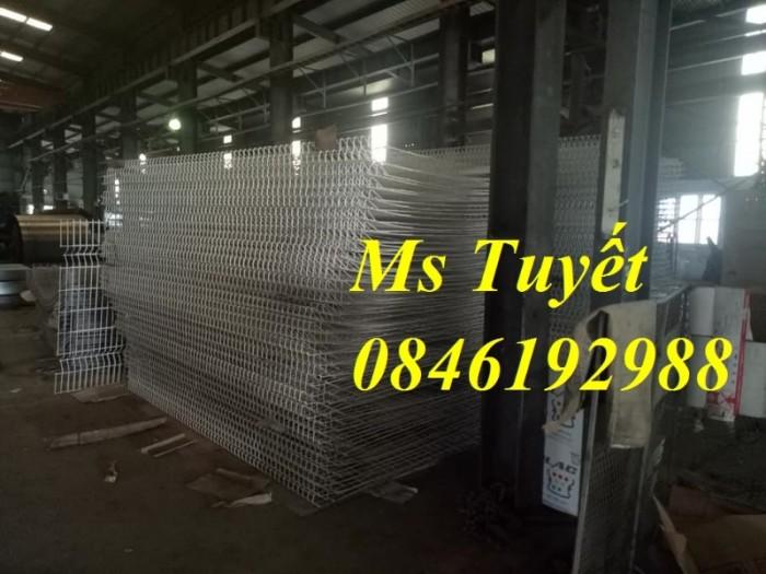 Hàng rào lưới thép mạ kẽm, lưới thép điện phân, sản xuất và lắp đặt6