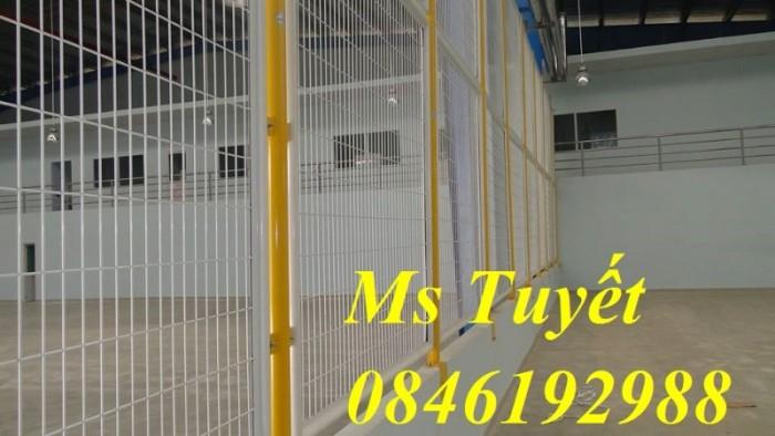 Hàng rào lưới thép mạ kẽm, lưới thép điện phân, sản xuất và lắp đặt3