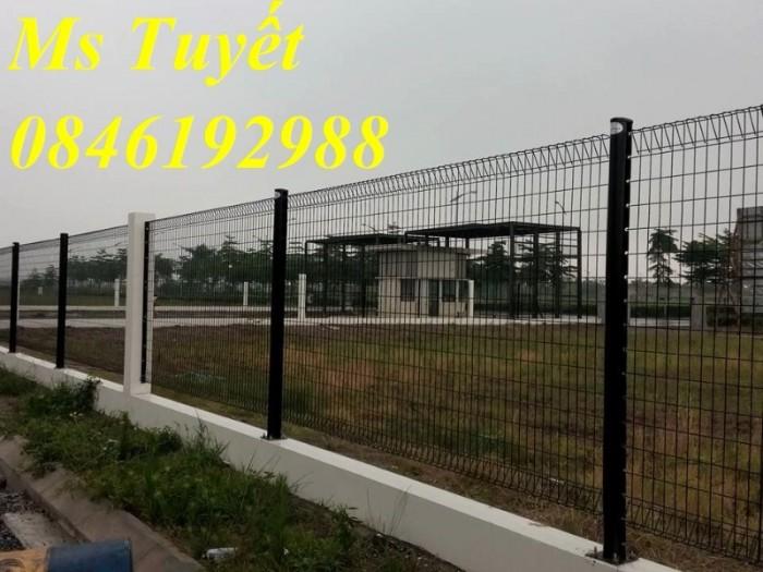 Hàng rào lưới thép mạ kẽm, lưới thép điện phân, sản xuất và lắp đặt9