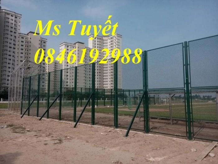Hàng rào lưới thép mạ kẽm, lưới thép điện phân, sản xuất và lắp đặt10