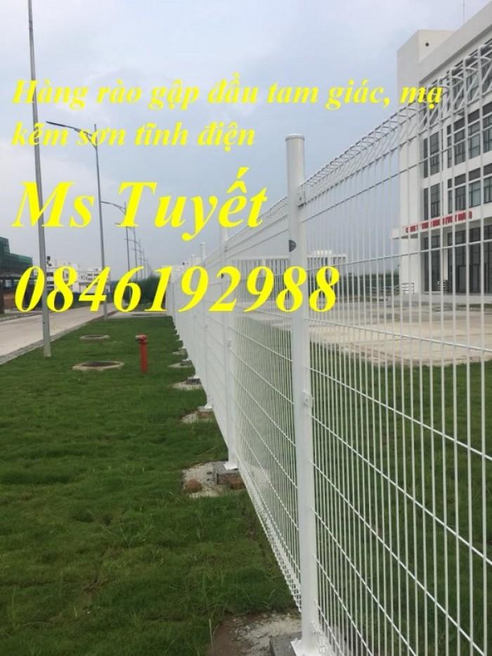 Hàng rào lưới thép mạ kẽm, lưới thép điện phân, sản xuất và lắp đặt23