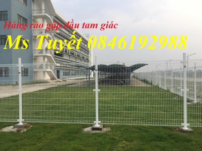 Hàng rào lưới thép mạ kẽm, lưới thép điện phân, sản xuất và lắp đặt17