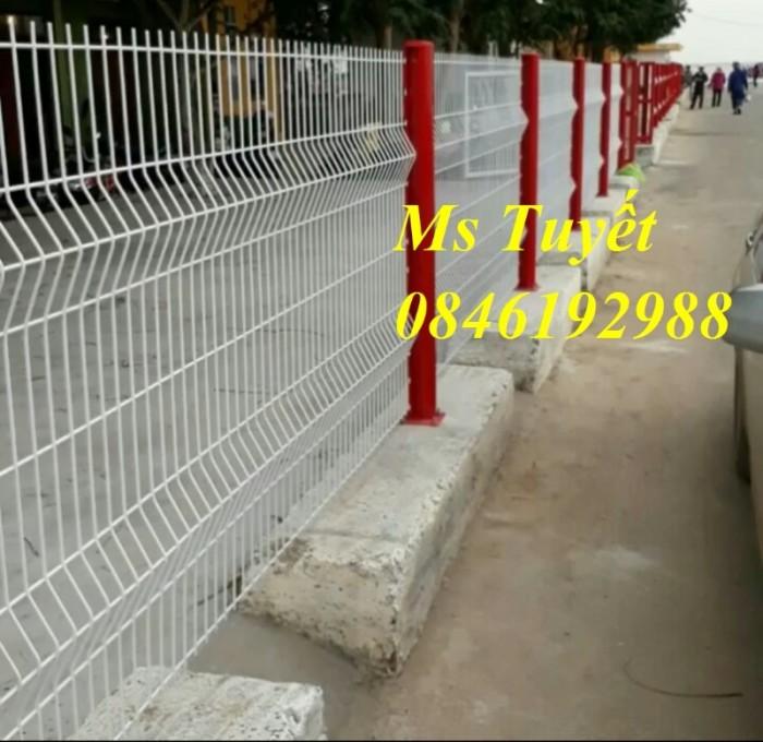 Hàng rào lưới thép mạ kẽm, lưới thép điện phân, sản xuất và lắp đặt21