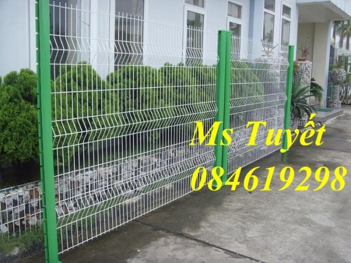 Hàng rào lưới thép mạ kẽm, lưới thép điện phân, sản xuất và lắp đặt19