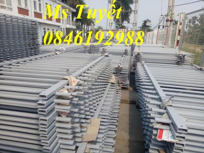 Hàng rào lưới thép mạ kẽm, lưới thép điện phân, sản xuất và lắp đặt15