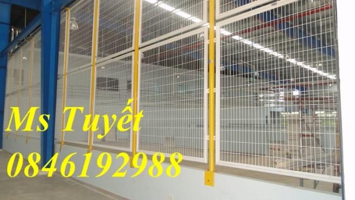 Hàng rào lưới thép mạ kẽm, lưới thép điện phân, sản xuất và lắp đặt13