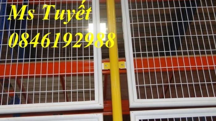 Hàng rào lưới thép mạ kẽm, lưới thép điện phân, sản xuất và lắp đặt25