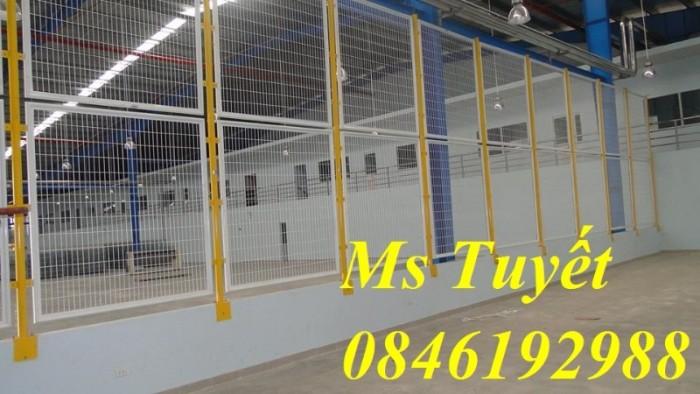 Hàng rào lưới thép mạ kẽm, lưới thép điện phân, sản xuất và lắp đặt26