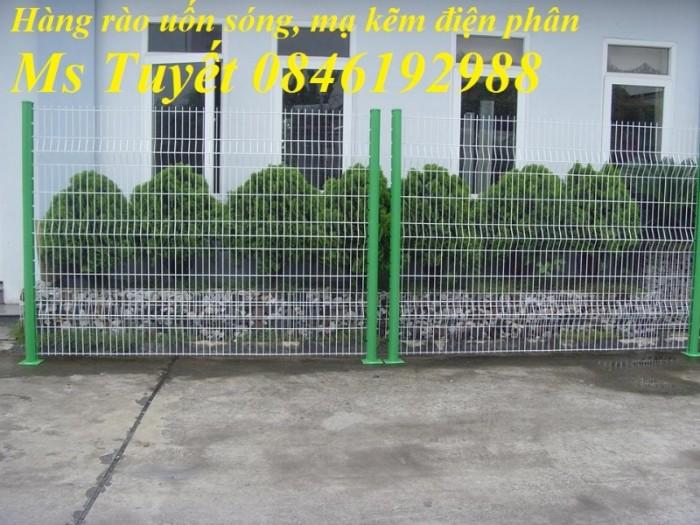 Hàng rào lưới thép mạ kẽm, lưới thép điện phân, sản xuất và lắp đặt29