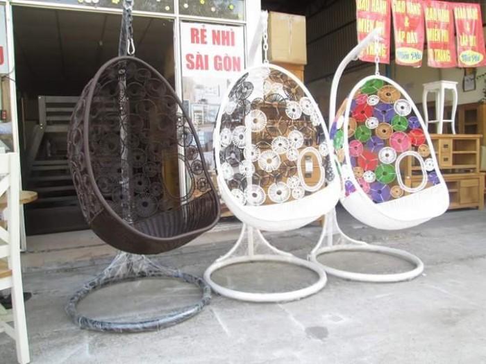 Xích đu giá bán tại nơi sản xuất bàn ghế nhựa giả mây nhựa đúc bàn ghế gỗ..0