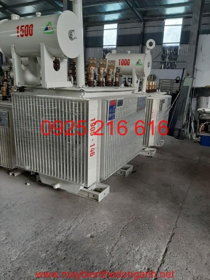 Máy biến áp 2200kVA-22/0.4kV6