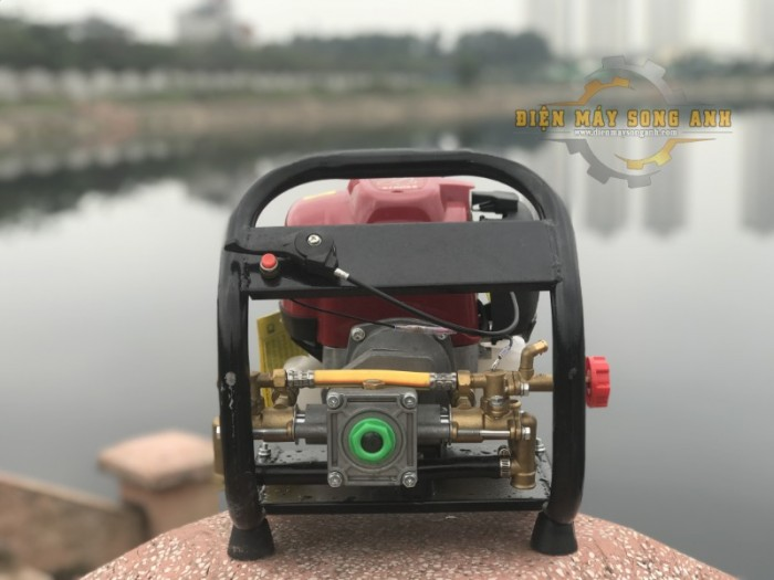 Máy phun/tưới nước xách tay 4 thì loại cố định - Kèm dây 20m5