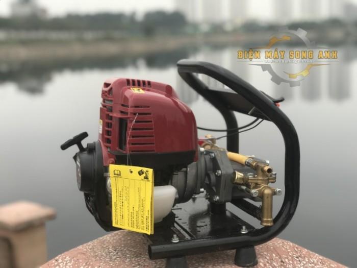 Máy phun/tưới nước xách tay 4 thì loại cố định - Kèm dây 20m6