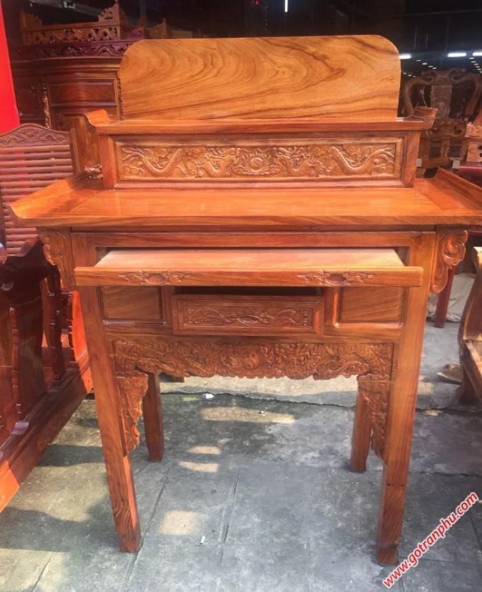 Bàn thờ gỗ hương 2 tầng1