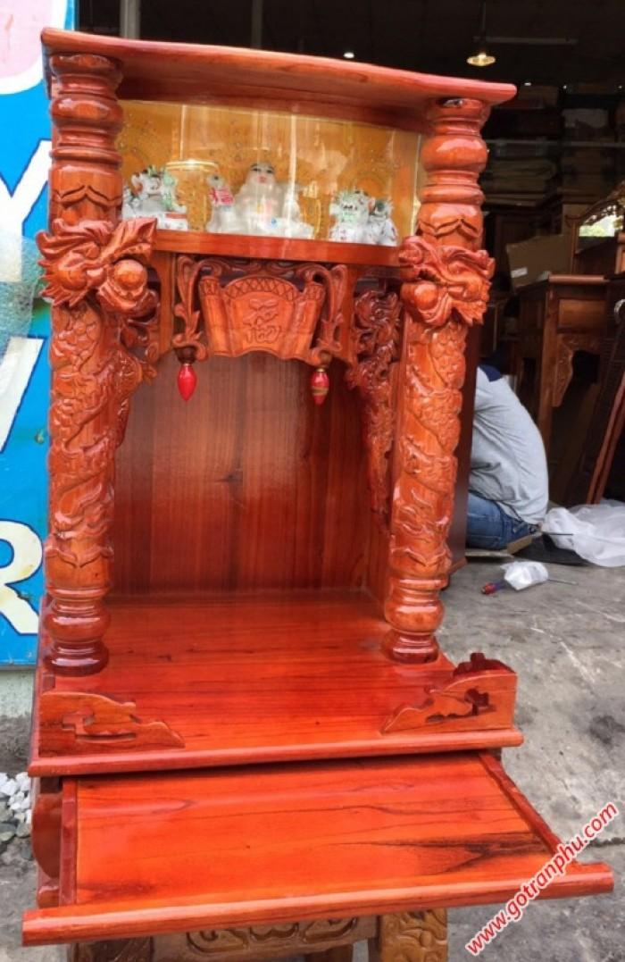 Trang thờ ông địa gỗ xoan đào1