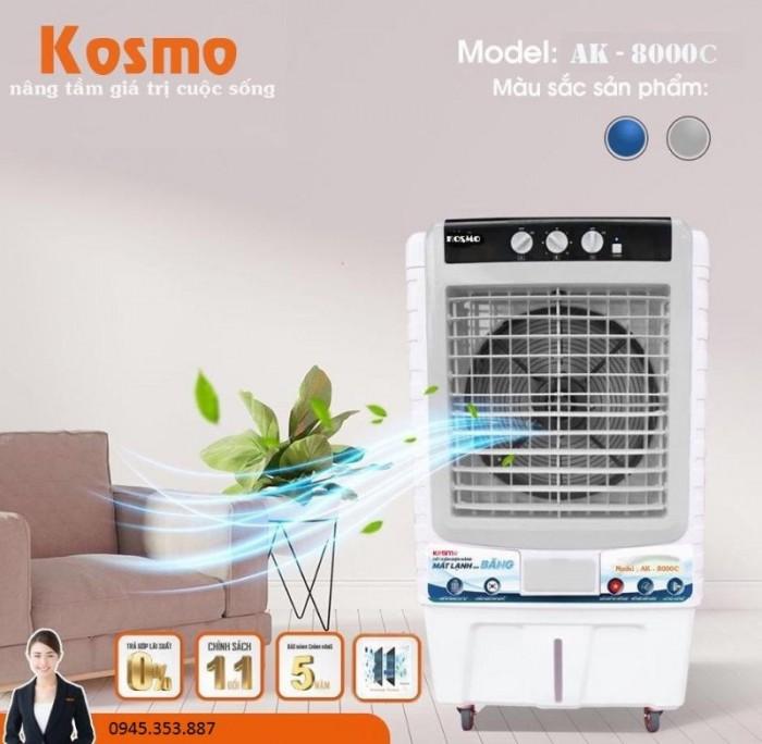 Quạt điều hoà không khí Kosmo KM-AK8000C nhập khẩu Thái Lan công suất lớn200w0