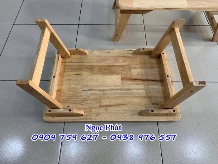 Bàn Gỗ Chân Thang - Bàn Xếp Chân Gỗ - NGỌC PHÁT3